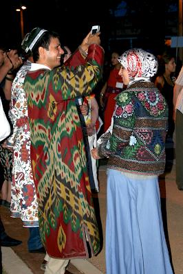 Santa Fe Uzbek couple