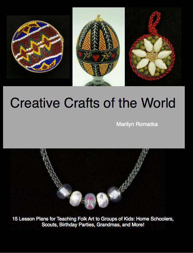 Creative Crafts of the World Book Cover